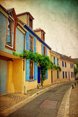 Antique Village in France — Foto Stock