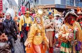 Carnival parade on March 3, 2014 in Cologne,Germany. — Stock Photo