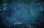 Blue grungy wall — Stock Photo