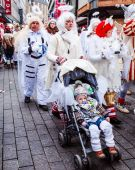 Carnival parade with more than one million spectators — Stock Photo