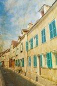 Beautiful antique building in france — Zdjęcie stockowe