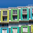 Colored apartments — Stock Photo #53060361