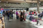 Interior of Duty Free Shop at Oslo Gardermoen International Airp — Foto de Stock