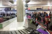 Interior of Oslo Gardermoen International Airport — Stock Photo