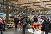 Interior of Duty Free Shop at Oslo Gardermoen International Airp — Stock Photo