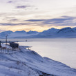 Barentsburg - Russian village on Spitsbergen — Stock Photo #62332837