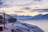 Barentsburg - Russian village on Spitsbergen — Stockfoto
