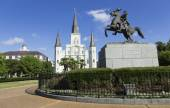 Jackson Square in New Orleans — Stock Photo