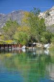 Whitewater Canyon Pond — Stock Photo