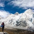 Panoramic view of Mount Everest — Stock Photo #53096771