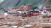 Labrang Monastery - Xiahe, Gannan, Gansu - china  — Stock Photo