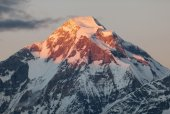Evening view of mount Dhaulagiri - Nepal — Stock Photo