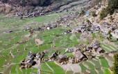 Dogadi village - beautiful village in Western Nepal — Stock Photo