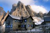 Pale di san martino - dolomiti italy — Stock Photo