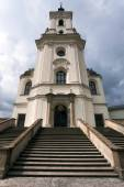 Pilgrimage Church and monastery in Krtiny — Stock Photo
