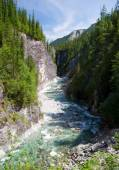 Sumak river - sayan mountains - buryatia russia — Stock Photo