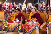 Meditation of Tibetan Buddhist Monks — Stock Photo