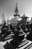 Swayambhunath stupa - Kathmandu - Nepal  — Stock Photo