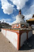 Stupas in Leh - Ladakh - Jammu and Kashmir - India — Stock Photo