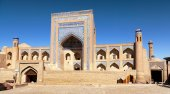 Alloquli Khan Medressa in Itchan Kala - Khiva — ストック写真