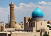 Panoramic view of bukhara from Ark - Uzbekistan — Stock Photo