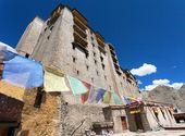 Leh Palace - Ladakh - Jammu and Kashmir - India — Stock Photo