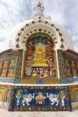 Detail of Tall Shanti Stupa near Leh — Stock Photo