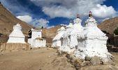 Stupas in Leh - Ladakh - Jammu and Kashmir - India  — Stock Photo