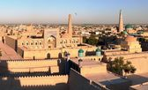 Evening view of Khiva - Uzbekistan — Stock Photo