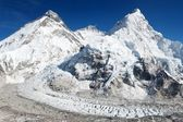 Beautiful view of mount Everest — Stock Photo