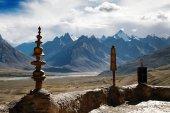 Karsha gompa - buddhistische kloster in zanskar-tal — Stockfoto