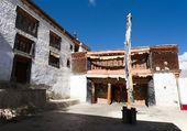 Karsha gompa - monasterio budista en Valle de zanskar — Foto de Stock