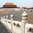 View from forbidden city - Beijing, china — Stock Photo #72652365