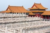 View from forbidden city - Beijing, china — Stock Photo