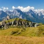 Panoramic view of Alpi Dolomiti — Stock Photo #73376237