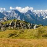 Panoramic view of Alpi Dolomiti — Stock Photo #74357927