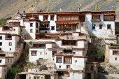 Lingshed gompa - Budist manastırda Zanskar vadi — Stok fotoğraf