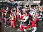 Traditional ethnical festival in Nepal — Stock Photo