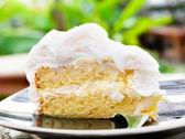 Coconut cake — Stock Photo