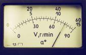 Voltmeter — Stock Photo
