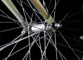 Bike wheel — Stock Photo