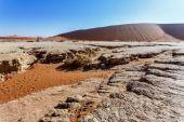 Sossusvlei beautiful landscape of death valley — 图库照片