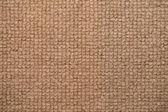 Close up beige color carpet texture — Stock Photo