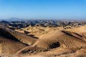Fantrastic Namibia moonscape landscape, Eorngo — Zdjęcie stockowe