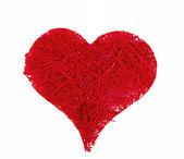 Valentine's hearts isolated on white background — Stock Photo