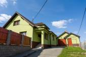 Repaired rural house — Stock Photo