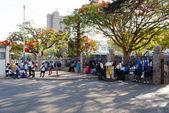 Street in Bulawayo Zimbabwe — Stock Photo