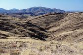 Fantrastic Namibia moonscape landscape — Stock Photo