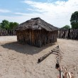 Traditional african village with houses — Stock Photo #76942639