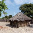 Traditional african village with houses — Stock Photo #76942643